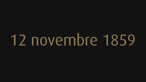 12 novembre 1859