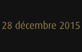 28 décembre 2015