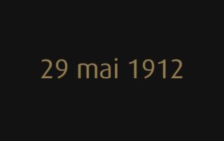 29 mai 1912