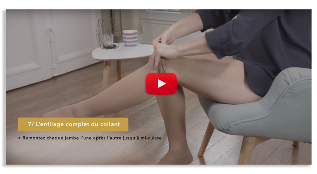 Smartleg enfilage des collants de contention