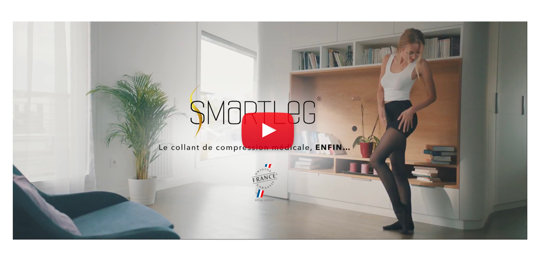Smartleg collants de contention : publicité