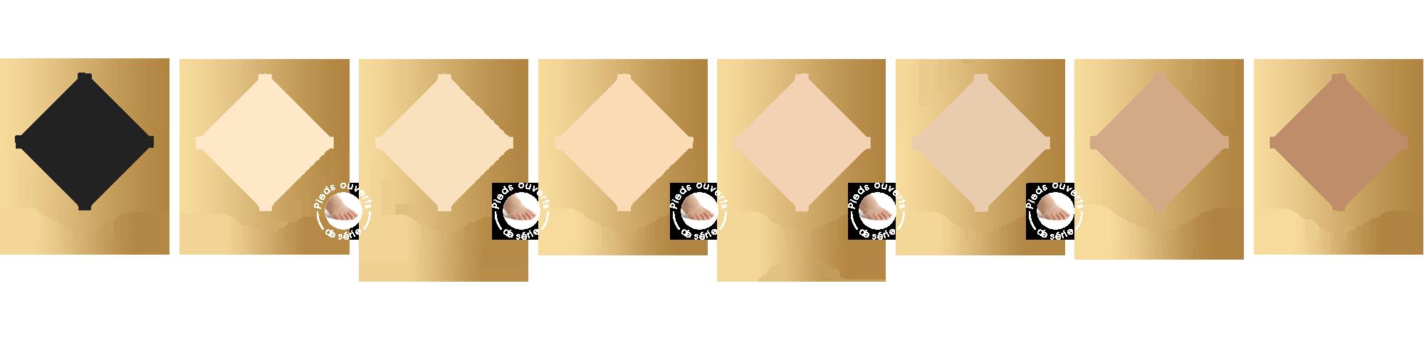 Smartleg Transparent coloris